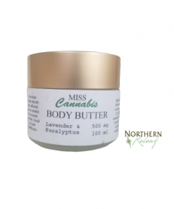 Lavender & Eucalyptus Body Butter by Miss Cannabis